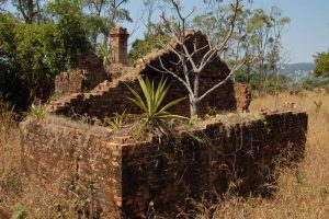 Ruins of Fort Mangochi in the hills above Namwera, Malawi